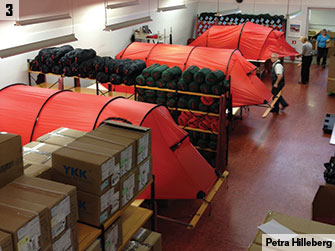 Making the Tents & Tent design and manufacturing at Hilleberg