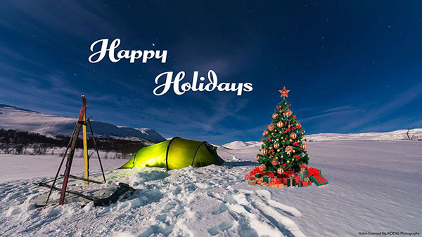 Happy Holidays from the Hilleberg Team