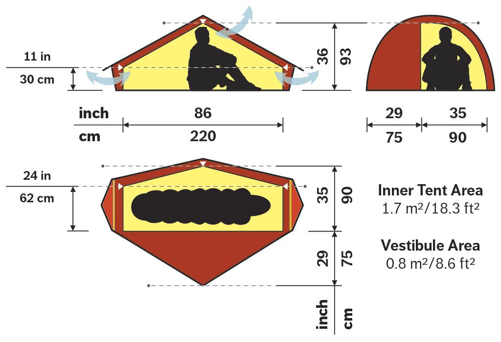 1  sc 1 st  Hilleberg Tents & Akto u2022 1 person tent u2022 Hilleberg