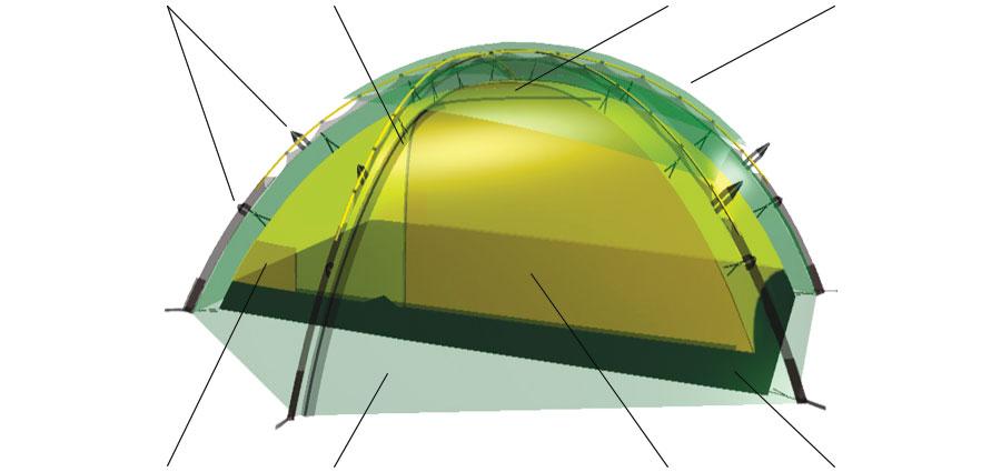 Allak 3D rendering.  sc 1 st  Hilleberg Tents & Allak u2022 2 person tent u2022 Hilleberg
