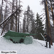 As a shelter for one or two people a Tarp 10 can be configured in a my­riad of ways, and can be used in all seasons.