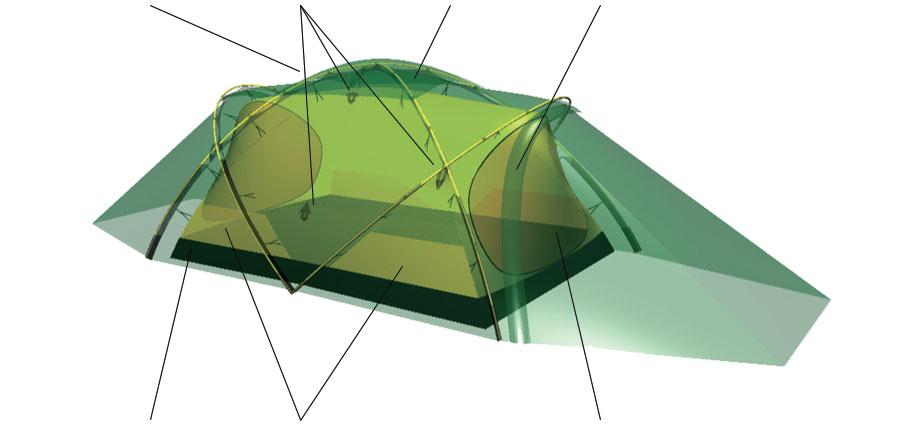 Bathtub floor  sc 1 st  Hilleberg Tents & Tarra u2022 2 person tent u2022 Hilleberg