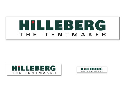 Hilleberg Logo stickers.