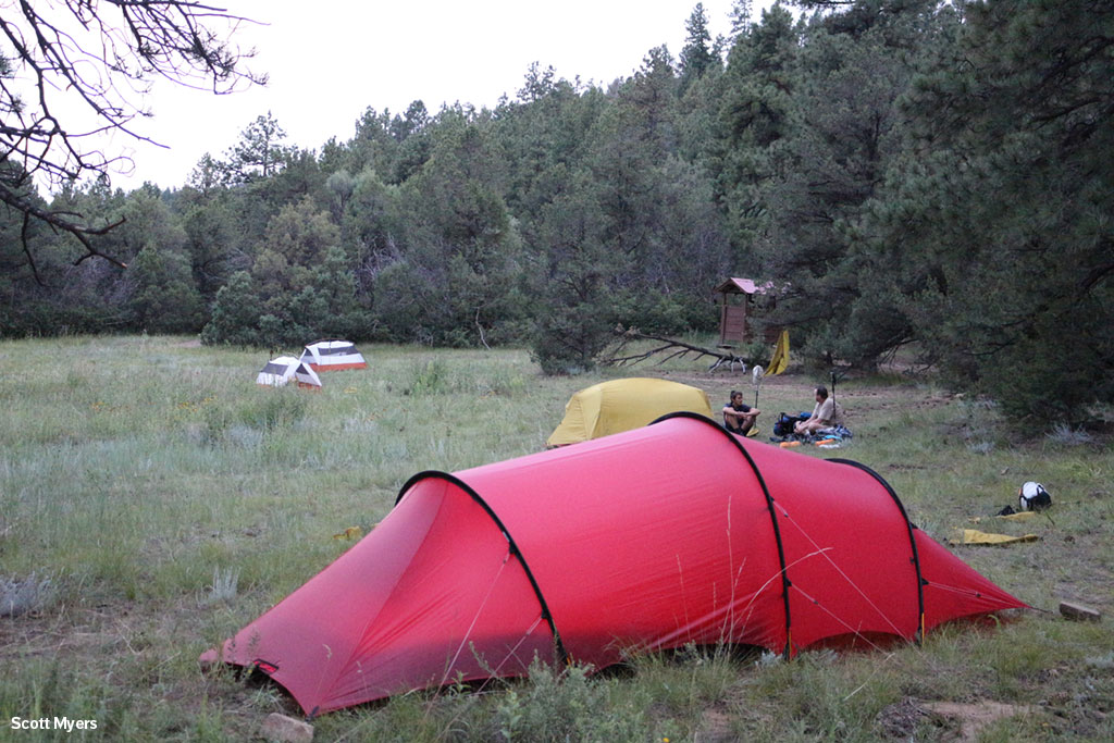 ... I just got back from a 12 day c&ing trip at Philmount Scout C& in the Southern Rockies in New Mexico. It was monsoon season with wind and rain most ... & Testimonials from Hilleberg campers