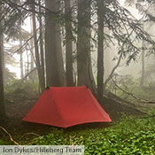 Even though it is our lightest 2-person tent, the Anaris is still fully capable of handling all weather conditions during the snow-free months of the year. On a backpacking and berry gathering trip in the lower slopes of the Cascade Mountains, Hilleberg Team member Jon Dykes encountered classic Cascade weather – constant wet, fog and rain.
