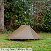 When fully buttoned up, the Anaris's outer tent offers impressive weather protection.