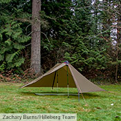 The Anaris outer and inner tents can be used separately. The outer weighs just 640 g (1 lb 7 oz), and makes a remarkably versatile tarp.
