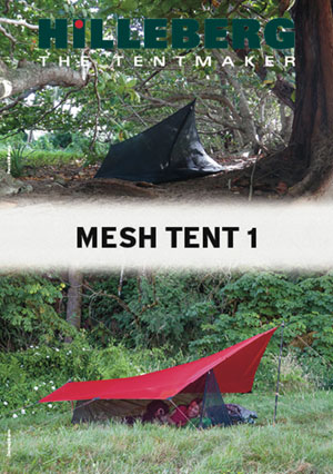 Mesh Tent 1 Pitching Instructions